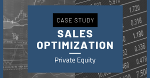 Sales Optimization Private Equity