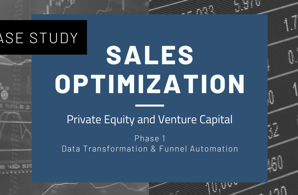 Sales Optimization Phase 1