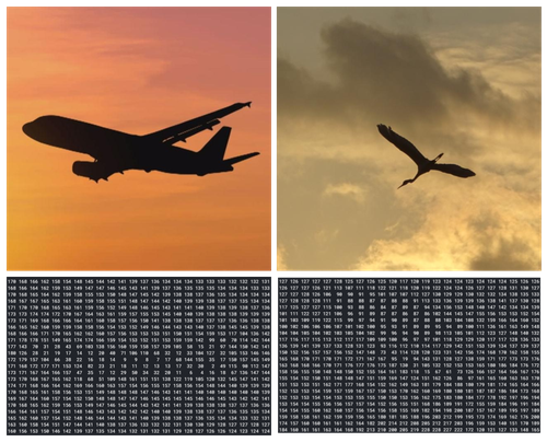It's a bird, it's a plane, it's a classified flying objected. Example of Computer Vision