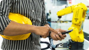 Connected Internet of things IOT devices in Energy and Utilities